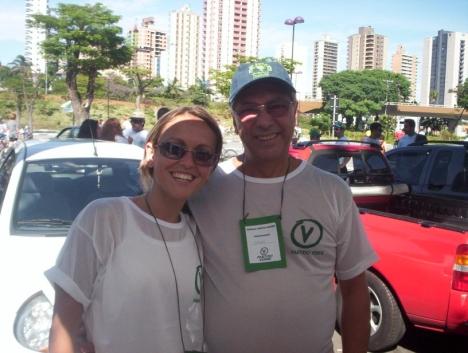 Odinho e eu quando nos conhecemos em 2005. Tivemos o prazer de dividir uma paixão, simplesmente, inexplicável...a Política!!